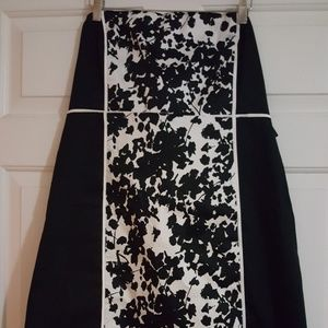 New York & CO Black/White Dress